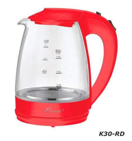 Чайник электрический Bene K30 [1.7 л] (K30-WT (белый))