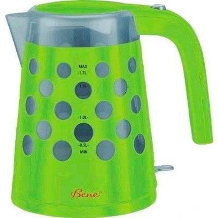Чайник электрический Bene K20 [1.7 л] (K20-GN (зеленый)), фото 2