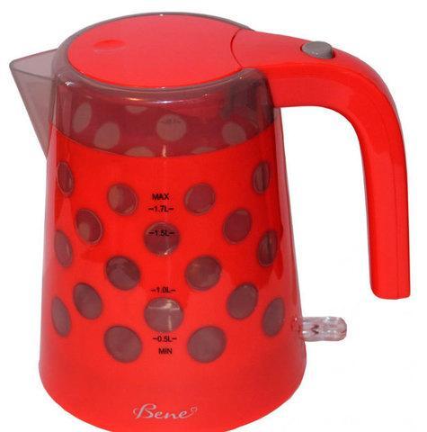 Чайник электрический Bene K20 [1.7 л] (K20-RD (красный))