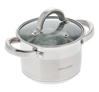 Кастрюля WELLBERG ALEXANDER WB [1.5, 2, 3, 4.5 л] (WB-9818, 1,5 литра)