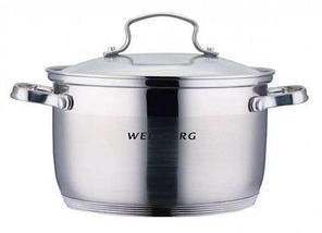 Кастрюля WELLBERG ALEXANDER WB [1.5, 2, 3, 4.5 л] (WB-9821, 4,5 литра), фото 2