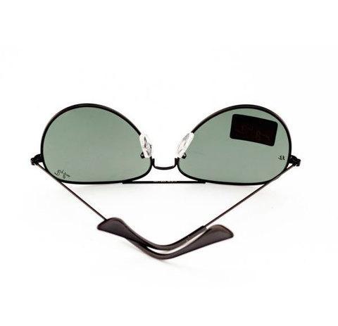 Очки солнцезащитные Aviator Ray-Ban (Темно-серая оправа/серые линзы)