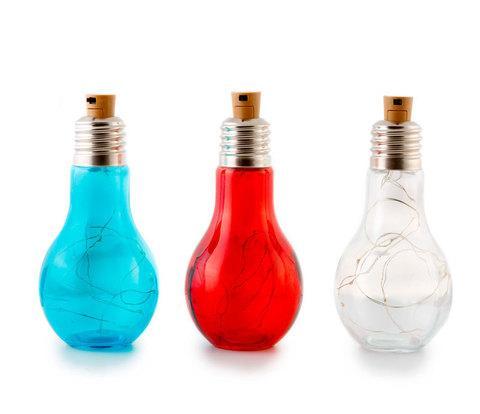 Светильник светодиодный «Большая лампочка» (Розовый)