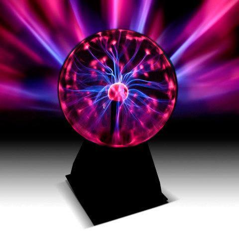 Светильник-шар плазменный с молниями Plasma Light (Большой)
