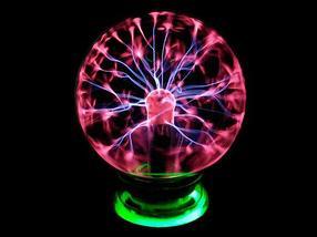 Светильник-шар плазменный с молниями Plasma Light (Большой), фото 2
