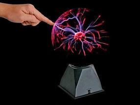 Светильник-шар плазменный с молниями Plasma Light (Большой), фото 3