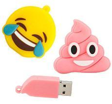 Флешка USB 2.0 «Эмодзи» в силиконовом корпусе (16 Гб), фото 2