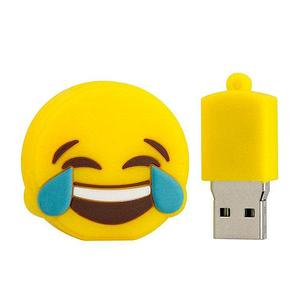 Флешка USB 2.0 «Эмодзи» в силиконовом корпусе (32 Гб)