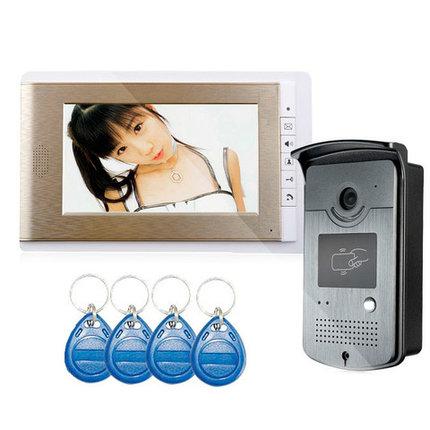 Видеодомофон цветной SMART XSL-V70С-ID (без ключей-магнитов), фото 2