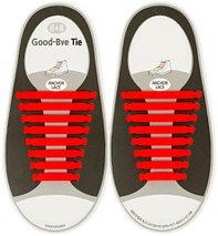 Шнурки силиконовые Good-Bye Tie {8+8} (Серый), фото 2