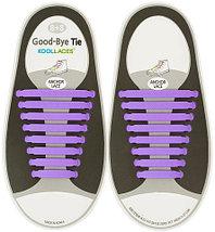 Шнурки силиконовые Good-Bye Tie {8+8} (Белый), фото 3