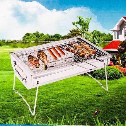 Мангал компактный Scovo Perfect Life WH-66 (34х24х18 см), фото 2