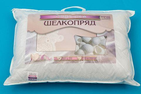 Подушка из шелкопряда ФАБРИКА СНОВ (50х70 см), фото 2