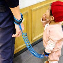 Ремень-шлейка страховочный на запястье для ребенка Lost Link (Оранжевый / 2,5 метра), фото 3