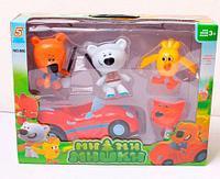 Игровой набор фигурок-кукол «Ми-ми-мишки» (Ми-ми-мишки с машиной)