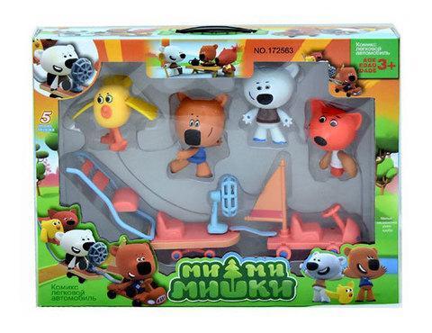Игровой набор фигурок-кукол «Ми-ми-мишки» (Ми-ми-мишки с машиной), фото 2