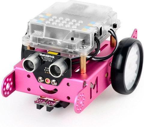 Робот-конструктор Makeblock mBot V1.1 90107 [версия Bluetooth] (Розовый)