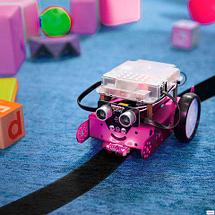 Робот-конструктор Makeblock mBot V1.1 90107 [версия Bluetooth] (Розовый), фото 2