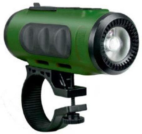 Фонарь-колонка портативный RITMIX SP-520BC (зеленый с черным), фото 2