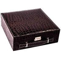 Кейс-шкатулка для ювелирных украшений (Коричневый)