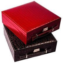 Кейс-шкатулка для ювелирных украшений (Малиновый), фото 3