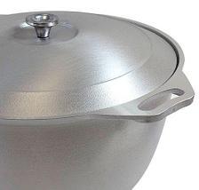 Кастрюля-казан Kukmara К40 с крышкой (10 литров), фото 3