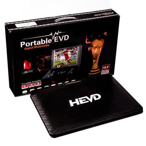 Портативный DVD плеер Portable EVD со встроенным телевизором (18.8)