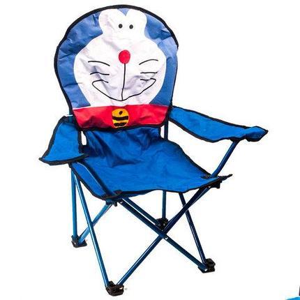 Стул складной детский для пикника OUTSIDE (кот-робот Doraemon), фото 2