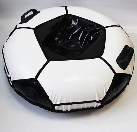 Санки надувные для тюбинга «Ватрушка Быстрик» под автомобильную камеру (100 см / Мяч)