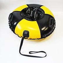 Санки надувные для тюбинга «Ватрушка Быстрик» под автомобильную камеру (100 см / Мяч), фото 2