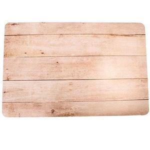 Комплект текстурных салфеток сервировочных для обеденного стола {4 шт.} (Белый дуб)