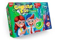 Набор для проведения 10 опытов «Магические эксперименты» серия Chemistry Kids (№2 Торнадо в бутылке)
