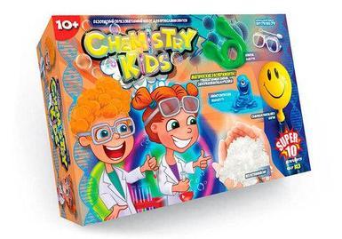Набор для проведения 10 опытов «Магические эксперименты» серия Chemistry Kids (№3 Самонадувающийся шарик)