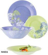 Столовый сервиз Luminarc Purple Mix (19 предметов), фото 2