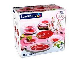 Столовый сервиз Luminarc Red Orchis (46 предметов), фото 3