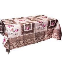 Скатерть хлопковая «Текстильщик» 150x180см (Элегантный узор), фото 2