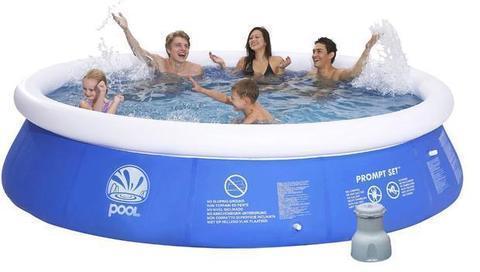 Бассейн надувной POOL Promt Set 300х76см с фильр-насосом в комплекте, фото 2