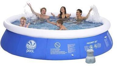 Бассейн надувной POOL Promt Set 300х76см с фильр-насосом в комплекте