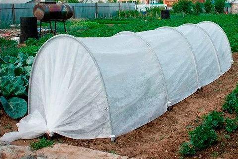 Парник-теплица «Гармошка» {Высота 110 см} с укрывным материалом Агроспан (6 метров), фото 2