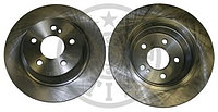 Тормозные диски Mercedes GLK-Class X204  (задние, Optimal, D300), фото 1