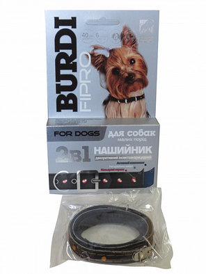 Капли Бурди фипро №4 ампулы для собак от блох и клещей до 6 мес, фото 2
