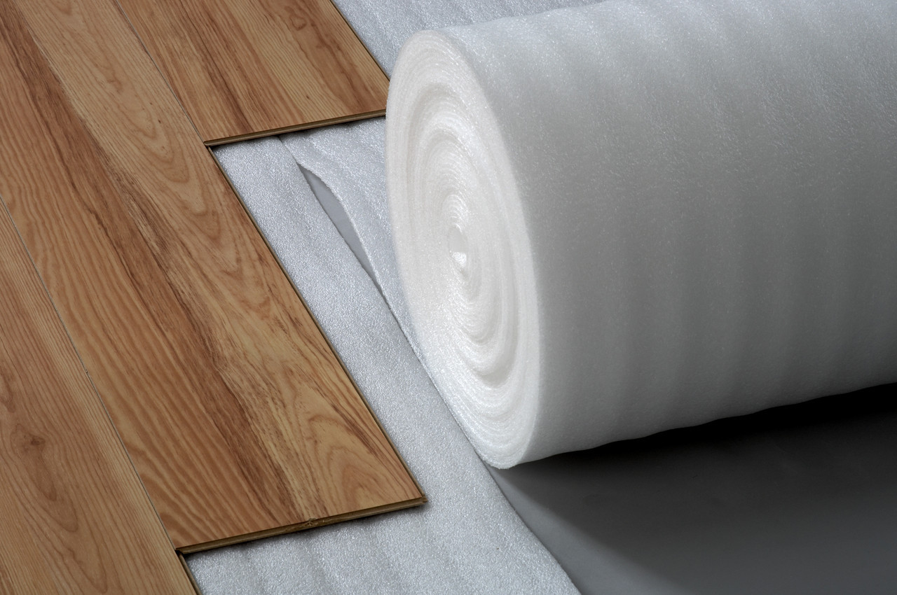Рулонная подложка из полистирола 3мм