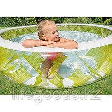 """Детский надувной бассейн круглый """"Вертушка"""" (Колесо) 229х56 см, Intex 57182, фото 2"""