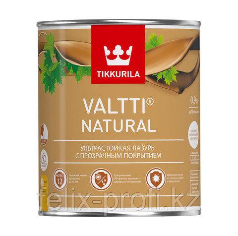 Valtti Natural - Ультрастойкая лазурь с прозрачным покрытием - 0.9 л