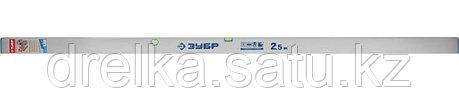 Правило-уровень ППУ, без ручек, 2.5 м, ЗУБР 10753-2.5, фото 2
