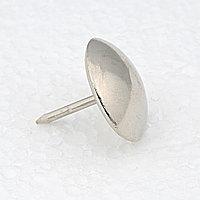 Гвозди декоративные 11 мм, никель - 500 штук.Китай