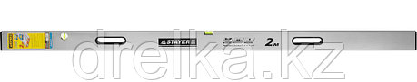 Правило-уровень с ручками GRAND, 2 м, STAYER, фото 2