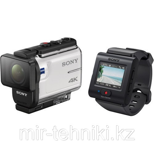 Sony Экшн-камера FDR-X3000R/W Action Camera with Live-View Remote