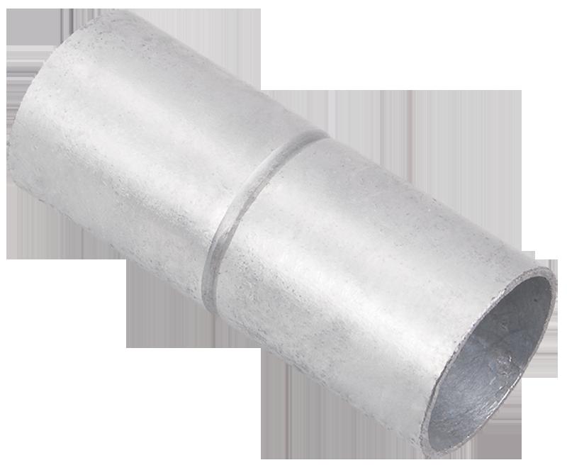 Муфта безрезьбовая алюминиевая d25 мм