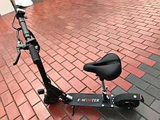 Электросамокат Urban Lux E-scooter с Сидушкой (До 120кг, 20-25км)